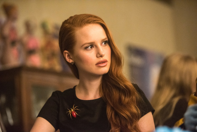 rvd102c 0210b How Playing a Mean Girl on 'Riverdale' Helped Madelaine Petsch Overcome (and Understand) Her Bullies