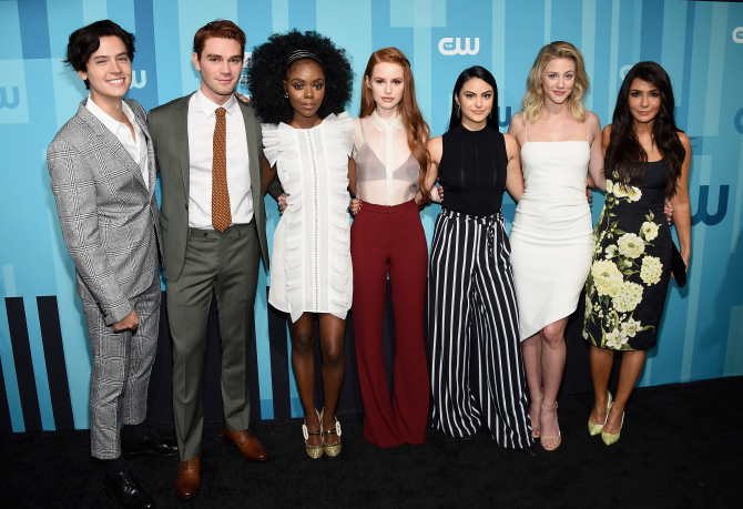 riverdale cast 2017 How Playing a Mean Girl on 'Riverdale' Helped Madelaine Petsch Overcome (and Understand) Her Bullies
