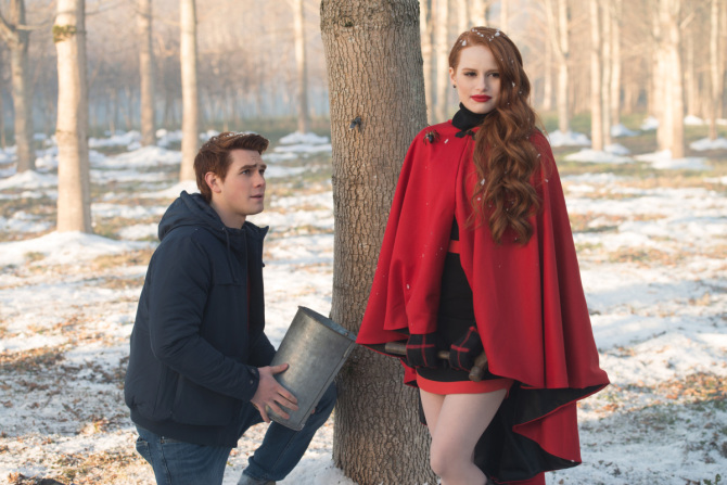 rvd109b 0284b How Playing a Mean Girl on 'Riverdale' Helped Madelaine Petsch Overcome (and Understand) Her Bullies