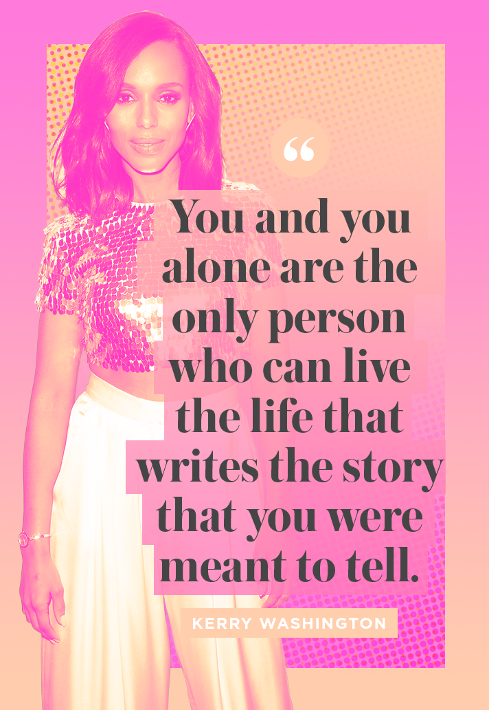 Inspiring Kerry Washington Quote