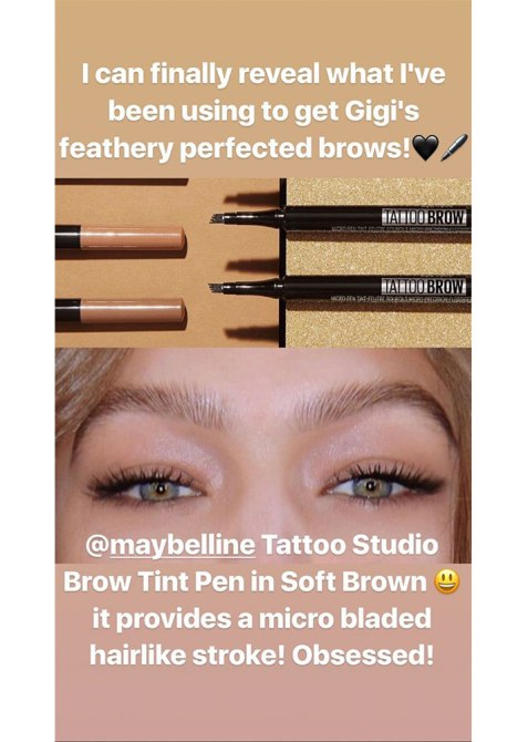 gigi brows 2 The Game Changing Tool That Gives Gigi Hadid Gorgeous Eyebrows