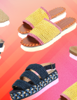 11 Pairs of Rattan Shoes WeWant to Slip Into, ASAP