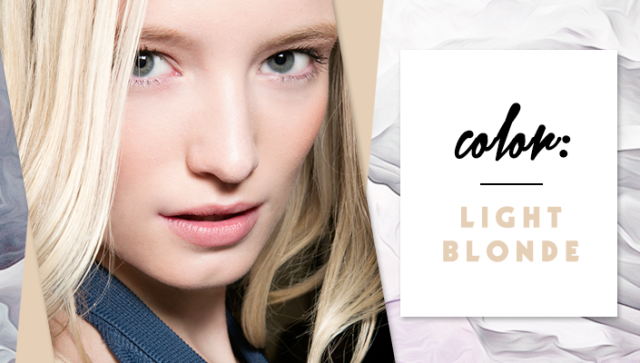 STYLECASTER | Simple Hair Color Chart for Every Shade | Light Blonde