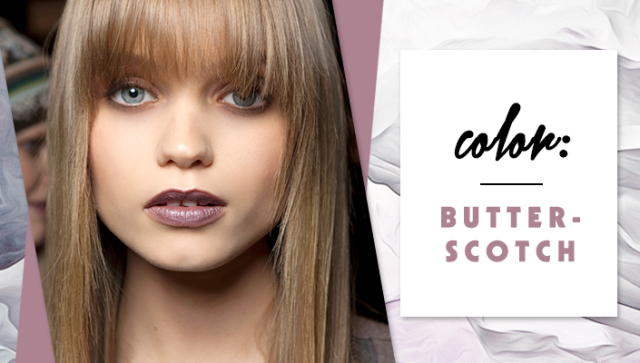 STYLECASTER | Simple Hair Color Chart for Every Shade | Butterscotch
