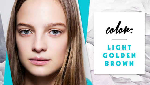 STYLECASTER | Simple Hair Color Chart for Every Shade | Light Golden Brown