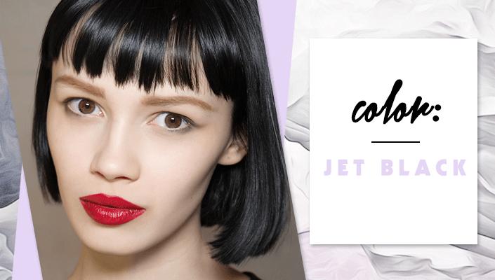 jet black hair color