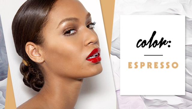 STYLECASTER | Simple Hair Color Chart for Every Shade | Espresso