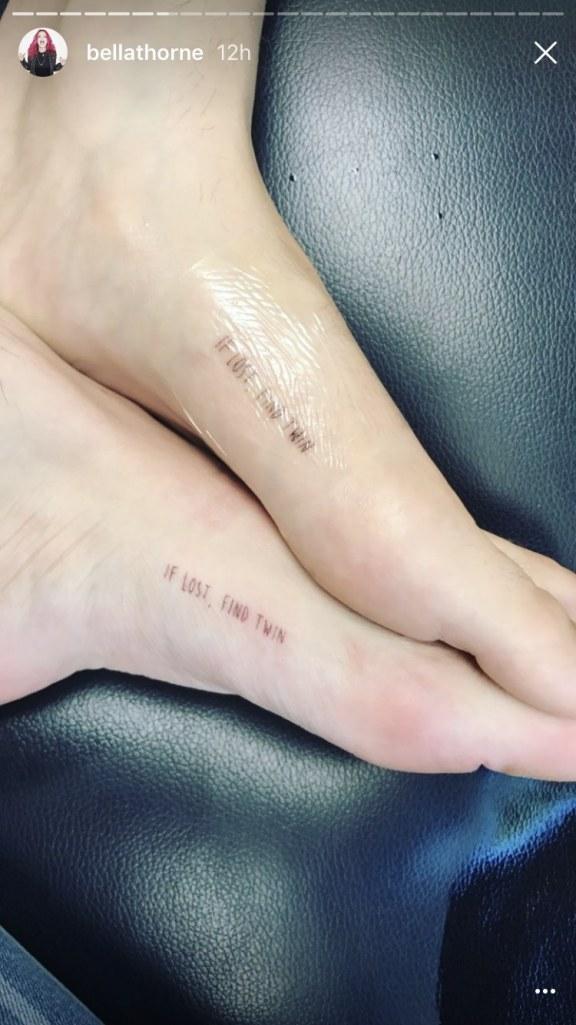 STYLECASTER   Bella Thorne Tattoos
