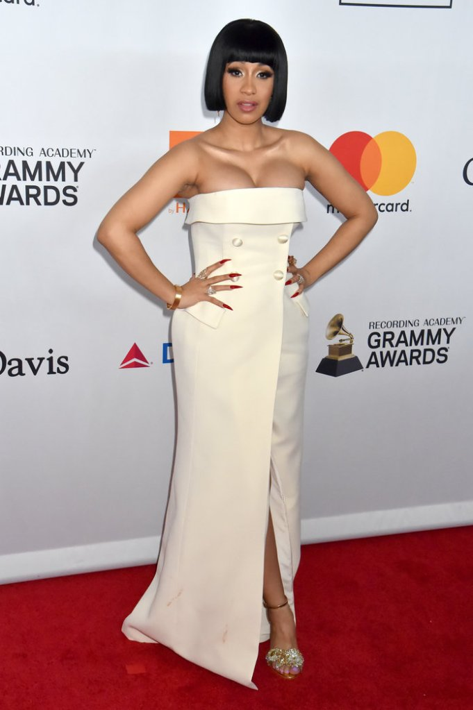 cardi b grammys Offset Was Caught Thirsting Over Cardi Bs Grammys Performance & the Video Is a Must See