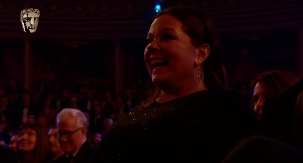 melissa mcarthy coleman baftas speech Prince William Met the Actress Playing His Grandma on The Crown & His Reaction Is Priceless