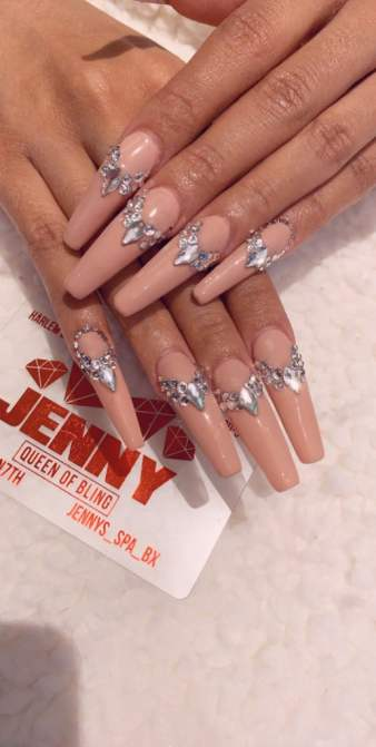 cardi b nails grammys 2019 Here's the Mani That Was Hiding Under Cardi B.'s Grammys Look