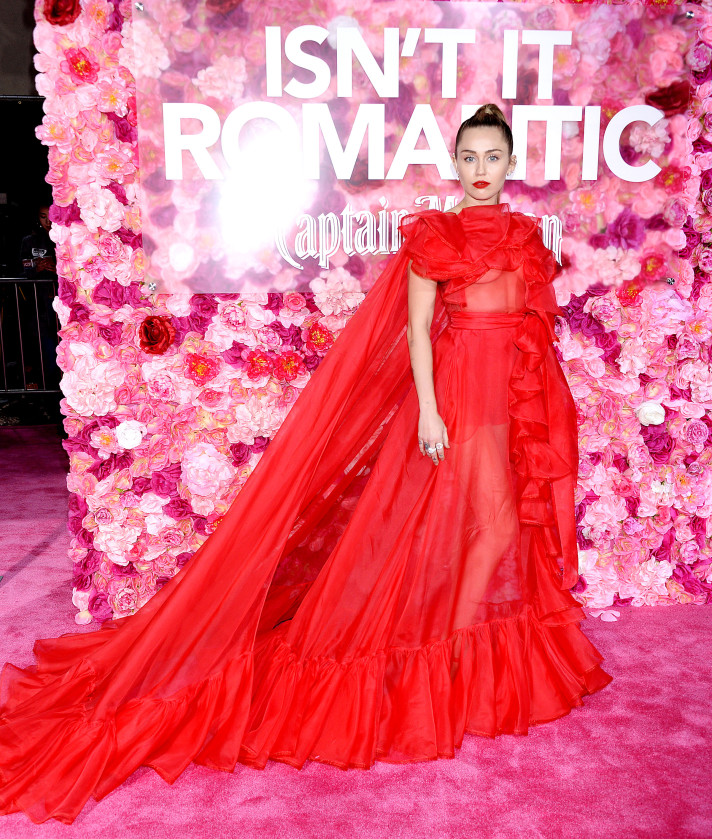 shutterstock 10102097j Miley Cyrus Was Best Dressed at a Premiere for a Movie She Wasnt Even in
