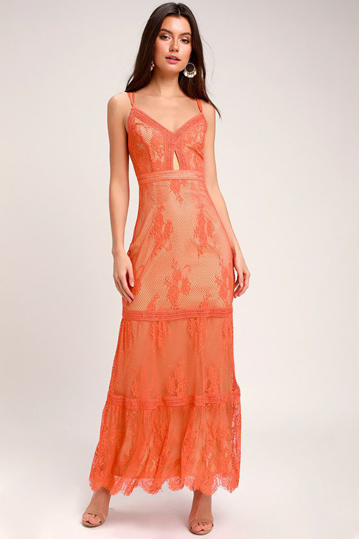 efa6c27d665 Coral Bridesmaid Dresses Are a Spring Summer Classic - Flashmode ...