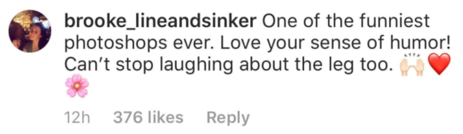 laugh instagram comments kardashian Kourtney Kardashian Is Being Trolled for This Photoshop Fail on Instagram