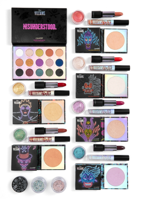 colourpop disney villians kit stylecaster ColourPop Is Heading to the Dark Side With Its Latest Disney Collab