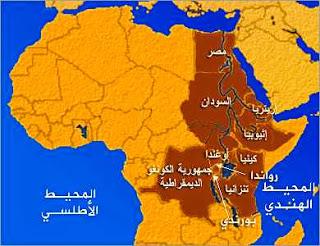 خريطة نهر النيل من المنبع الى المصب Flashmode Arabia مقالات تعليمية مجانية معلومات ثقافية عامة موسوعة شاملة