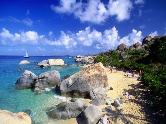 شاطئ ساندي سبيت، الجزر العذراء البريطانية