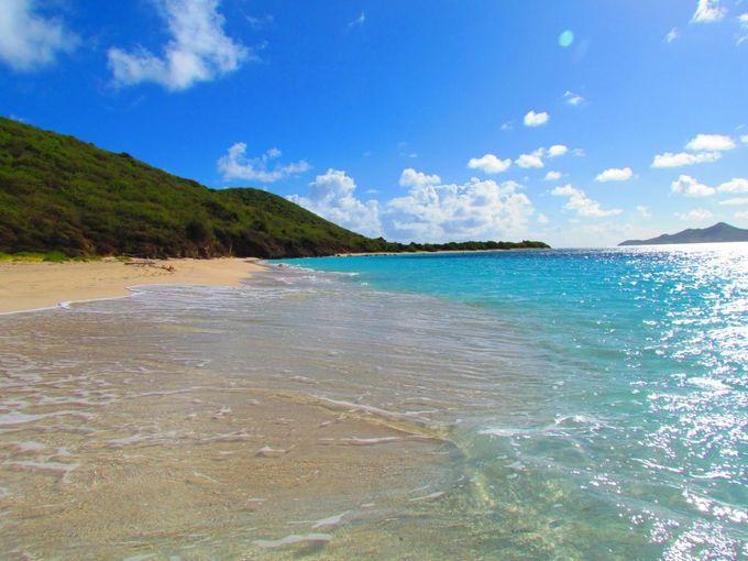 شاطئ ترتيل بيتش، جزيرة سانت كروا