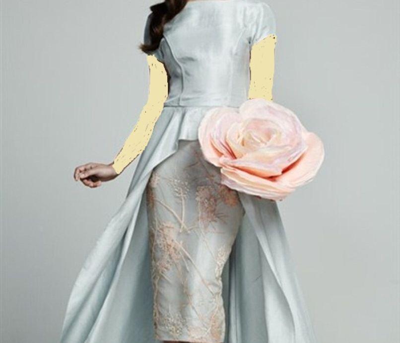 فستان بيبلوم