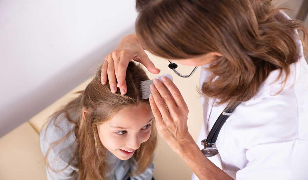 علاج تساقط الشعر عند الاطفال