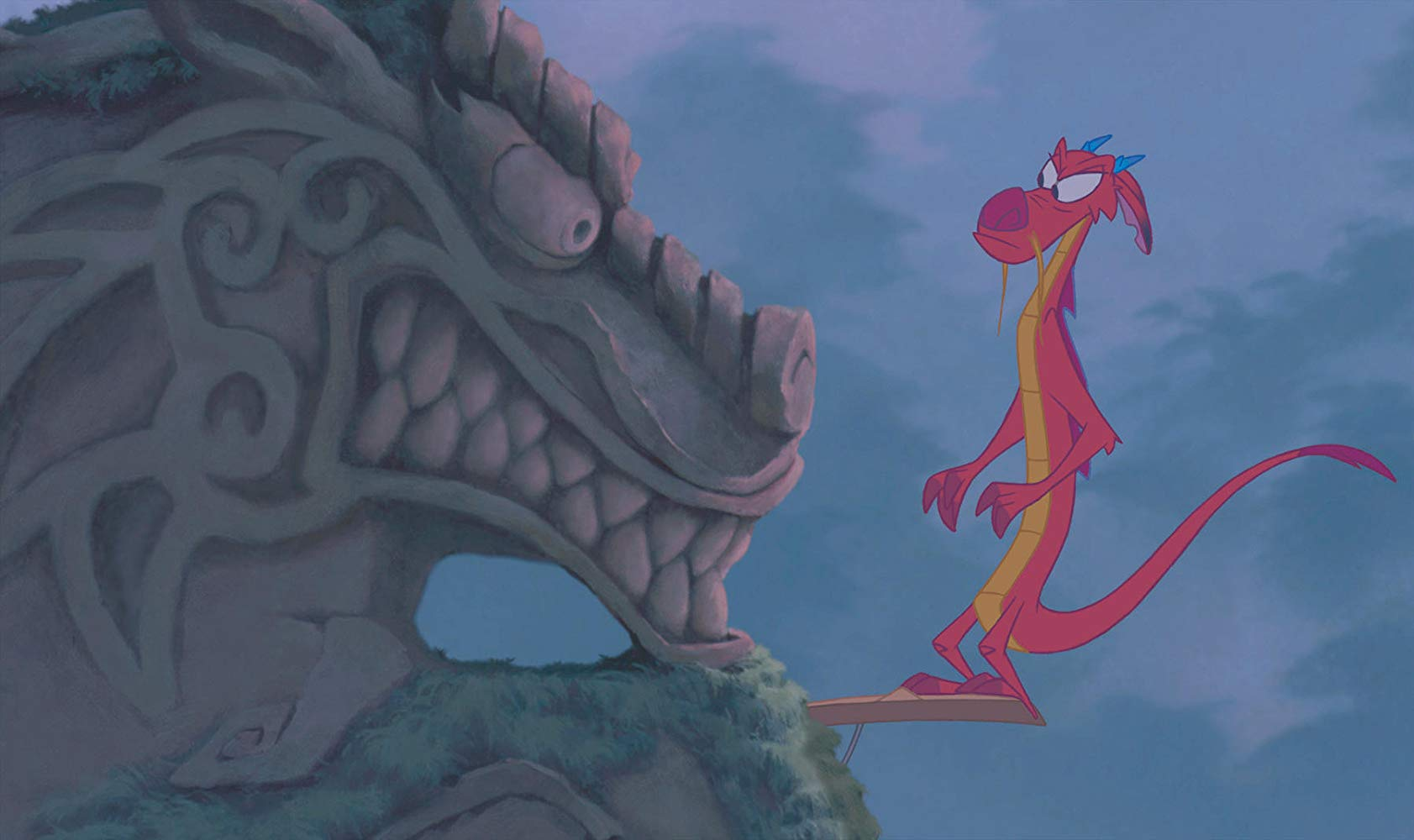 Eddie Murphy in Mulan (1998)